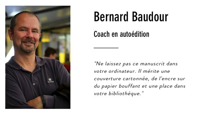 Bernard Baudour | Coach en autoédition