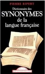 Un dictionnaire des synonymes (Pierre Ripert)